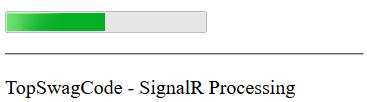 WebSocket ideas built with SignalR and Dotnet core | Top